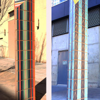 Pedestrian Geometries, 3rd St., Austin Art in Public Places